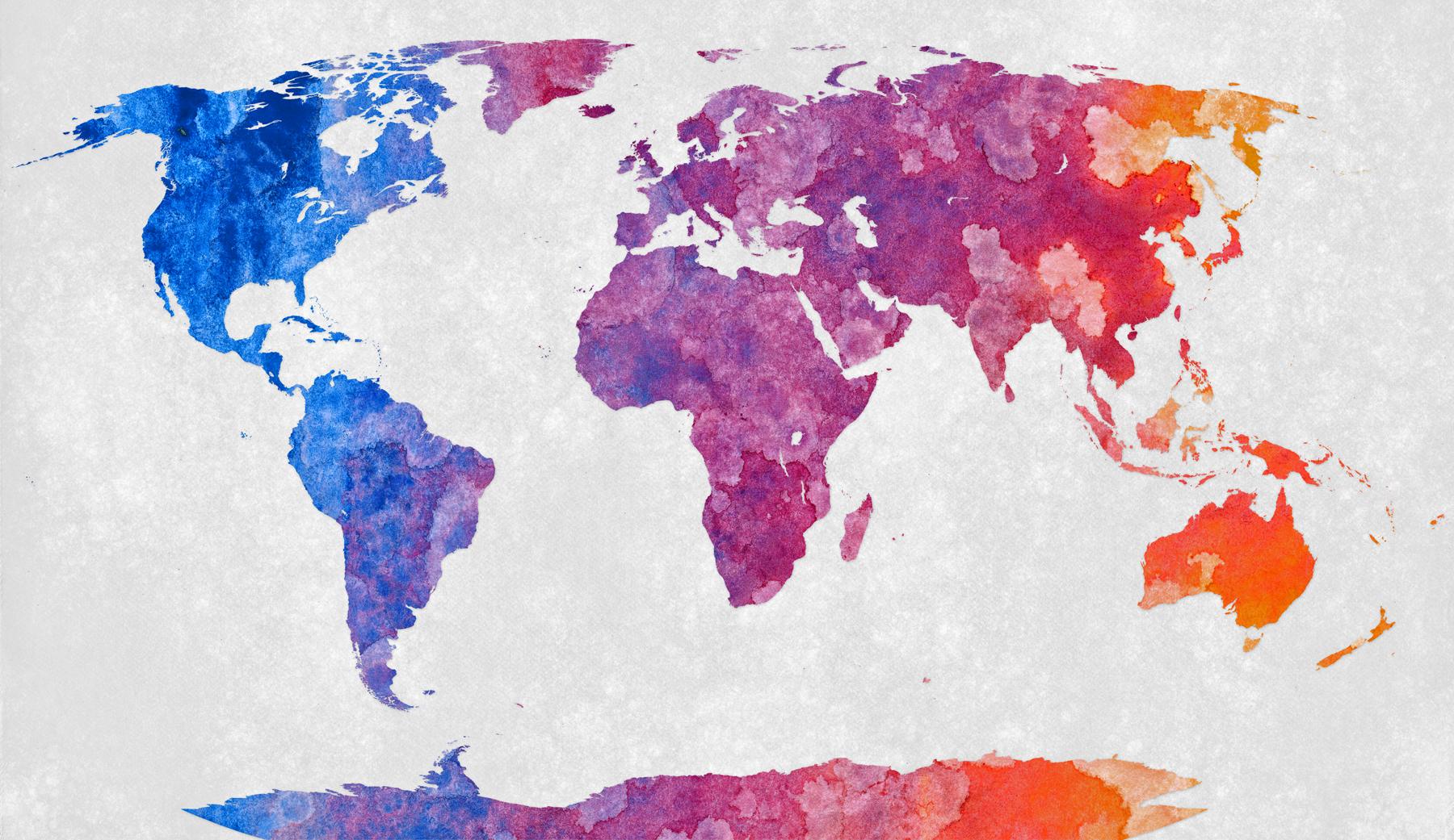 Les Plus Grands Pays Du Monde